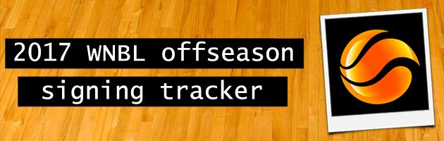 2017 WNBL Tracker